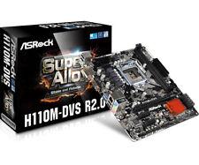 ASROCK SCHEDA MADRE H110M-DVS R2.0 2x SLOT DDR4 DVI-D/VGA SOCKET 1151