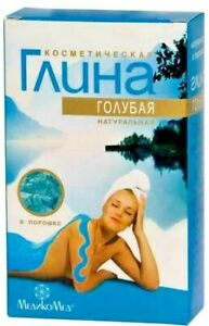 "Russian Clay ""Medicomed"" Blue Cosmetic For Normal Skin 100 g"