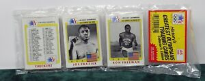 1983 TOPPS THE GREATEST OLYMPIANS 45 CARD RACK PACK JOE FRAZIER ON TOP SEALED NE