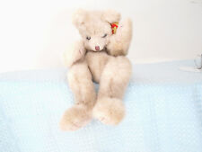 "TY CLASSIC ""CUZZY BEAR"" SIGNED TWICE BY SALLY WINEY/RETIRED/FULLY JOINTED/MWMT!"
