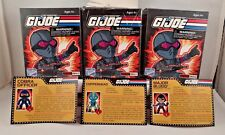 The Loyal Subjects GI Joe Wave 2 mini Action Figures Lot of 3 Copperhead Cobra