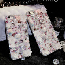NEW Bling Crystals Personalized Diamonds Soft back Phone Cover Case For Motorola