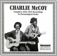 CHARLIE McCOY Complete Recordings Chronological (1928-1932)2000 Document CD NEW