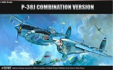 [Academy] 1/48 P-38J Combination Version Plastic Model Kit Aircraft 12282