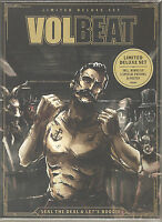 VOLBEAT Seal The Deal & Let's Boogie Limited Deluxe Set 2 CD + Poster + Patches