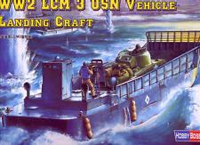 Hobby boss 1/48 lcm 3 usn landing craft # 84817