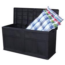 Auflagenbox Sitztruhe Kissenbox 320L Gartentruhe Universalbox Auflagentruhe Bank
