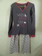 Mesdames Pyjamas Bugs Bunny Whats Up Doc Femme Nightwear PJ Set Tailles 6 To 24