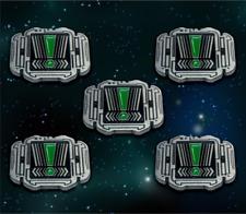 Star Wars: X-Wing Miniature Games Metal Empire Stress Tokens -- Broken Egg Games