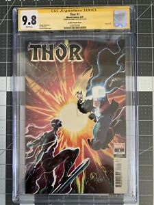 Thor #1 CGC 1:25 Donny Cates Matteo Scalera Silver Surfer signed 9.8 Torpedo Cmx
