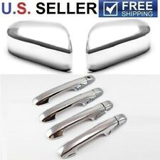 For 2003-2007 Honda Accord 4Dr Sedan Chrome Handle Covers + Mirror Cover
