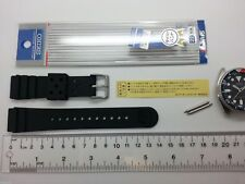 22mm genuine JDM SEIKO PROFESSIONAL RUBBER DIVE STRAP DAL1BP (replace GL831)