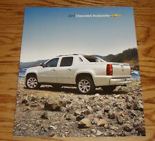 Original 2011 Chevrolet Avalanche Sales Brochure 11 Chevy