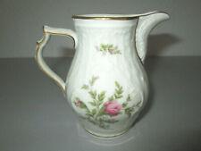 Rosenthal Classic Rose Form Sanssouci Moosrose Goldrand Milchkännchen - 10cm