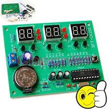 DC 6-12V AT89C2051 LED Electronic Clock Parts 6 Numbers Digital Clock DIY Kit