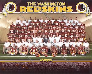 2015 WASHINGTON REDSKINS TEAM 8X10 PHOTO COUSINS MORRIS KERRIGAN GARCON GOLDSON