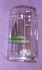 Vintage BEER MUG Vintage Glass beer tankard beer stein German beer mug 0.5 LTR