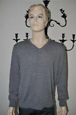 NEW GUCCI PREMIUM V NECK 100% VIRGIN WOOL CASUAL SWEATER FOR MEN XL