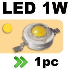 536/1# LED 1W  jaune --- 1PC
