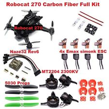 Robocat 270 Racing Quadcopter Kit Carbon Fiber NAZE32 6DOF 2300KV RC Drone FPV