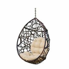 Christopher Knight Home 312592 Cayuse Indoor/Outdoor Wicker Tear Drop Hanging Ch