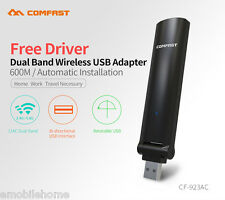 COMFAST 600Mbps 802.11ac Wireless USB Dual Band WiFi Receiver/Transmitter