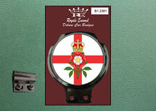 Royale Classic Car Badge & Bar Clip ENGLAND TUDOR ROSE Mod Vigano B1.2381
