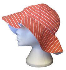 Henri Lloyd Mujer BONNIE Floppy Sombrero de sol rosa auténtico