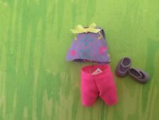 Kelly Doll Clothes Rare. Pink & Purple short set