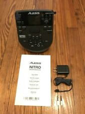 Alesis Nitro Module NEW w/Power Supply, Screws & Manual Drum (No Snake Cable)