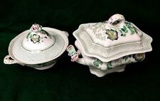 Vintage Masons Paynsley Pattern Lidded Vegetable Tureen & Large Soup Tureen