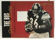 """Jerome Bettis 2004 Fleer Inscribed Names of the Game """"The Bus"""" GU Jersey #'d/225"""