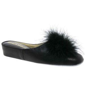 Relax Slippers Pom-Pom II Leather Slipper