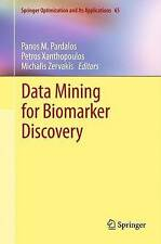 Data Mining for Biomarker Discovery (Springer Optimization and Its Applications