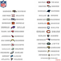 New NFL All Teams Pick Your Team Car Truck SUV Windshield Window Decal Sticker