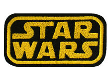Embroidered Star Wars Sew & Iron On Patch Appliqué Classic Movie Felt Patch