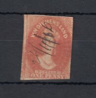Tasmania Van Diemensland 1857 1d Fine Used J2466