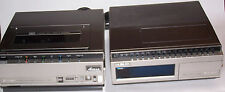 Vintage Hitachi Portable Video Cassette Recorder VT-6800A & Video Tuner VT-TU68A