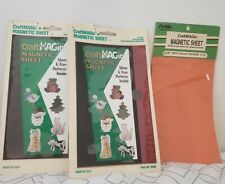 Vintage Craft Magic Magnetic Sheet and Patterns