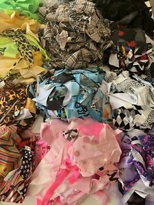 Fabric Scrap Value Pack Material Remnants Harumika Doll Card Hobby Craft Sewing