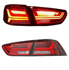 RED LED Tail Light Rear Lamp for 2008-2017 MITSUBISHI LANCER EVOLUTION EVO X