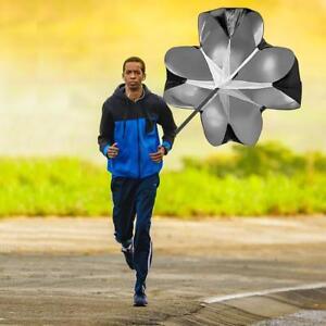 Speed Training Running Drag Chute Soccer Trainer Physical Fitness Parachute+Bag