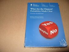 The Great Courses What Are The Chances? Probability Made Clear 3 Book 2 DVD
