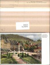 253866,Künstler AK Hugo Darnaut Abt Otker Brunnen in Mariazell