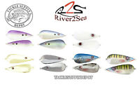 River2Sea Worldwide Spoon 100 Flutter Jigging 5in 1oz - Pick
