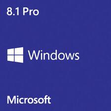 Microsoft Windows 8.1 Pro Professional 32/64 Bit DL Key Digital Delivery
