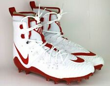 Nike Zoom Force Savage Elite Td Size 11 Football Cleats 857063 168 White/Red