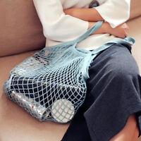 Mesh Net Turtle String Shopping Bag Reusable Fruit Storage Handbag Totes Bags