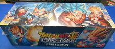 Dragon Ball Super Card Game Draft 01 Booster Box: 24 packs + 4 Leader Cards