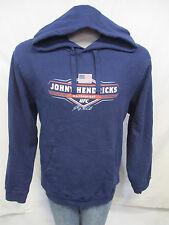 Johny Hendricks UFC Men Navy Blue Hooded Sweatshirt MMA